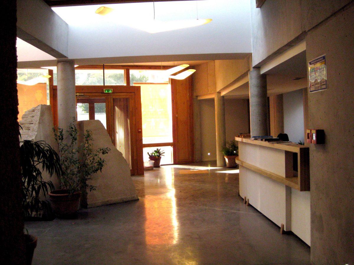 hall d'accueil du Naturoptère