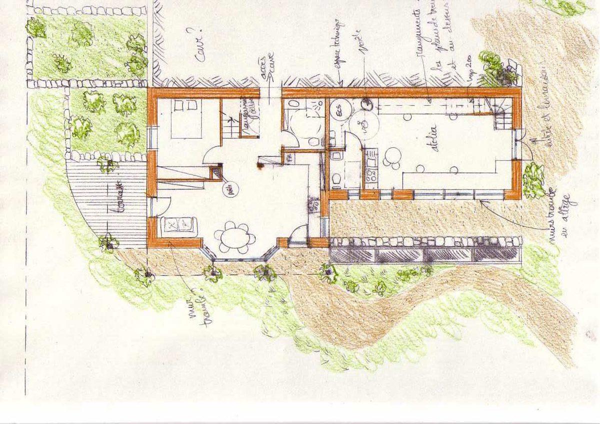 plan evolutif maison